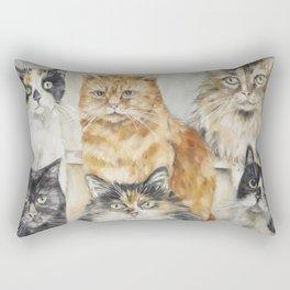 Jury's Out Rectangular Pillow