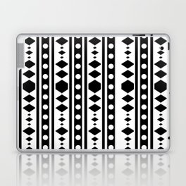 Black Tribal Pattern Laptop & iPad Skin