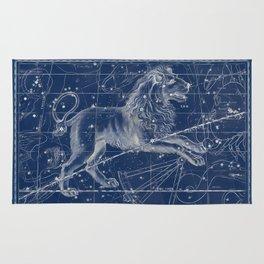 Leo sky star map Rug