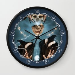 Secrets of Silent Streets Clock Wall Clock