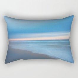 Painted Beach 2 Rectangular Pillow