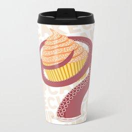 Cupcake Squid Metal Travel Mug