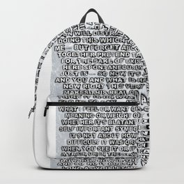 Artist's Statement Backpack