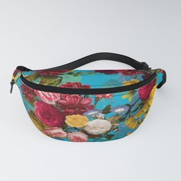 Vintage & Shabby Chic - Midnight Tropical Garden Fanny Pack