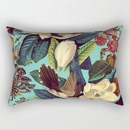 FLORAL AND BIRDS XXI Rectangular Pillow