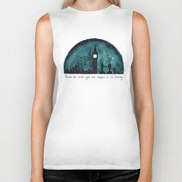 The Road to Neverland Biker Tank