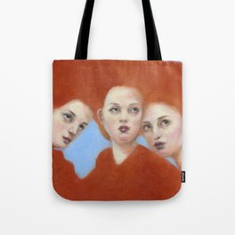 Mama & Her Babes Tote Bag