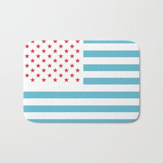 U.S.A. Flag Modified Bath Mat