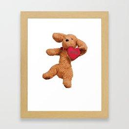 Puppup Celebrating Mother's Day Framed Art Print