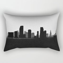 City Skylines: Miami Rectangular Pillow
