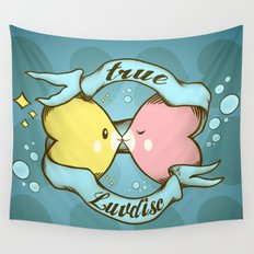 True Luvdisc Wall Tapestry