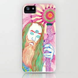 wizz bizz iPhone Case
