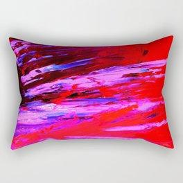 Abstract Shrapnell II by Robert S. Lee Rectangular Pillow