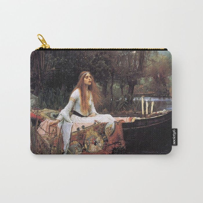 The lady of shalott painting  Carry-All Pouch