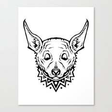 Chihuahua Party Canvas Print