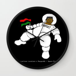 2014 RayGun81 Space Program (American Poverty + Fray and Tay) Wall Clock