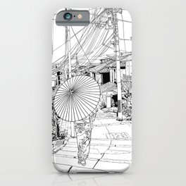 Kyoto - the old city iPhone Case