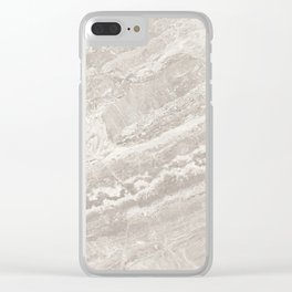Stone Texture Surface 06 Clear iPhone Case