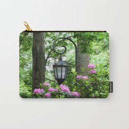 Lamppost Pink Carry-All Pouch