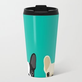 Boston Terrier & French Bulldog 2 Travel Mug