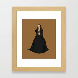 Catherine of Aragon - first Henry VIII wife Framed Art Print