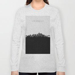 City Skylines: Los Angeles (Alternative) Long Sleeve T-shirt