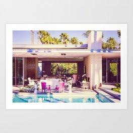 2298 Mid-Century Modern Stanbridge Estate Palm Springs Art Print