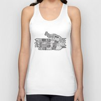 vancouver Tank Tops featuring Vancouver by Aaron Schwartz