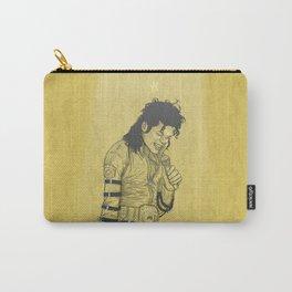 KingOfPop. (gold) Carry-All Pouch