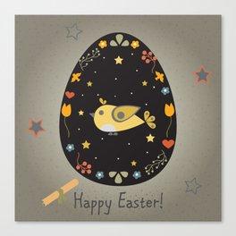 Easter Bird Canvas Print
