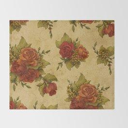Antique Wallpaper 1 Throw Blanket