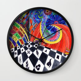 Fantasy Room Wall Clock