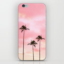 Palm Trees Photography | Hot Pink Sunset iPhone Skin