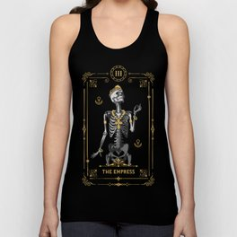 The Empress III Tarot Card Unisex Tank Top