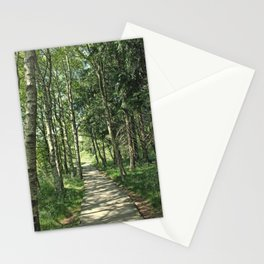 walk in the bog Stationery Cards