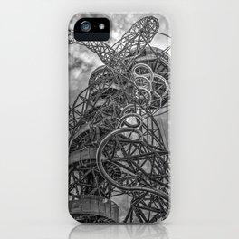 The Arcelormittal Orbit Monochrome iPhone Case