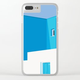 Postcards from Greece Clear iPhone Case