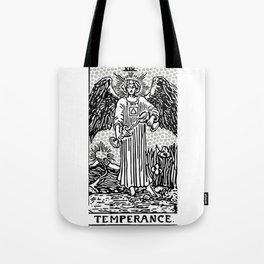 Modern Tarot Design - 14 Temperance Tote Bag