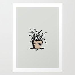 """Teacher's Plant"" from Grow Collection Art Print"