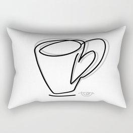 Cuppa Candor [Ivory] Rectangular Pillow