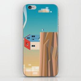 Off the edge iPhone Skin