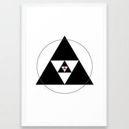 Tri > Framed Art Print