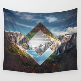 Valley of Other Dimension Wall Tapestry