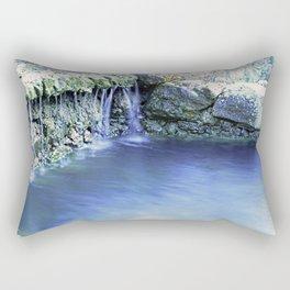 Flowing Water Rectangular Pillow