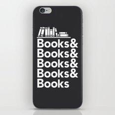 Books & Books & Books iPhone & iPod Skin