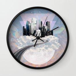 CITY OF PASTEL  DREAMS I Wall Clock
