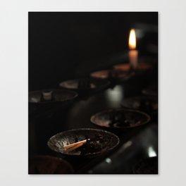 Votive Candle Canvas Print