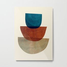 Abstract Shapes 37 Metal Print