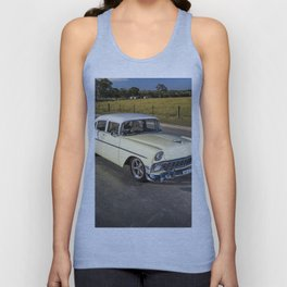 Anthony Penna's 1956 Chevrolet Bel Air Unisex Tank Top