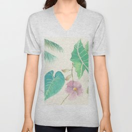 Tropical Combo Unisex V-Neck